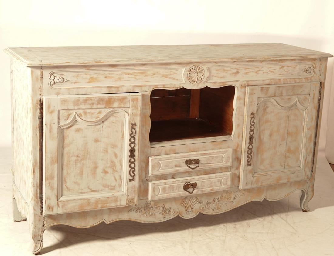 French Provincial Style Painted Sideboard