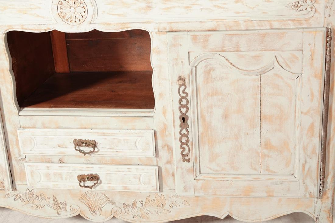 French Provincial Style Painted Sideboard - 4