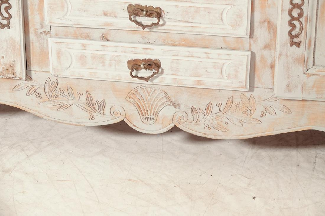 French Provincial Style Painted Sideboard - 5