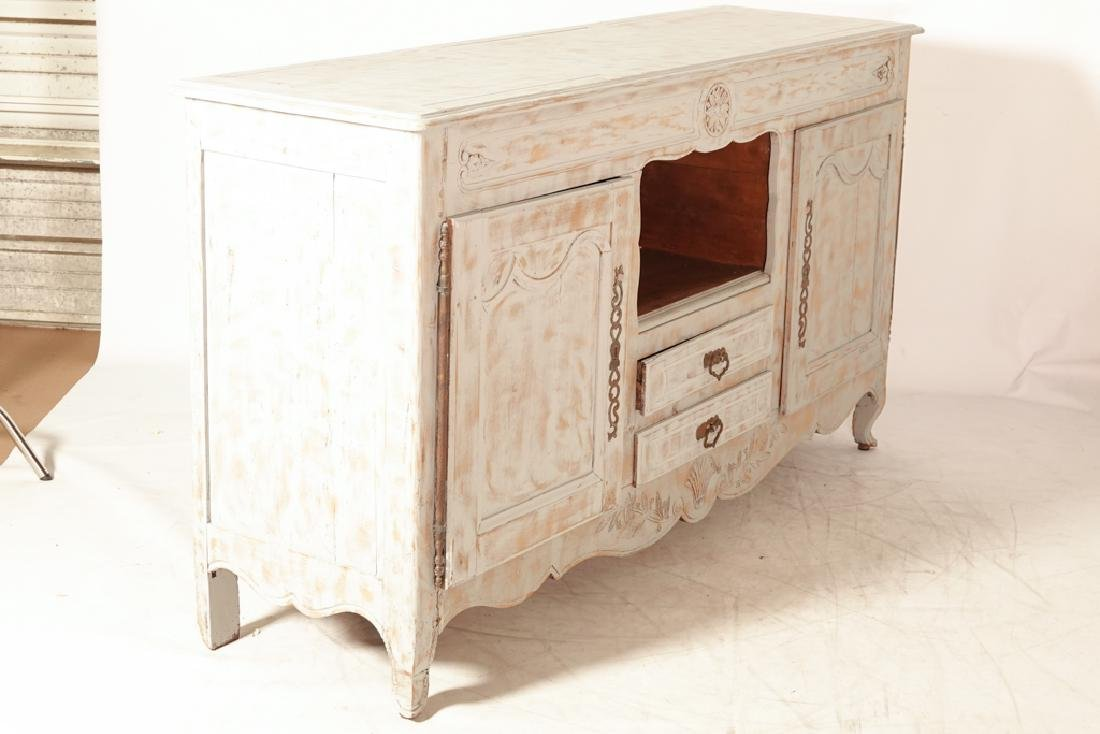 French Provincial Style Painted Sideboard - 6