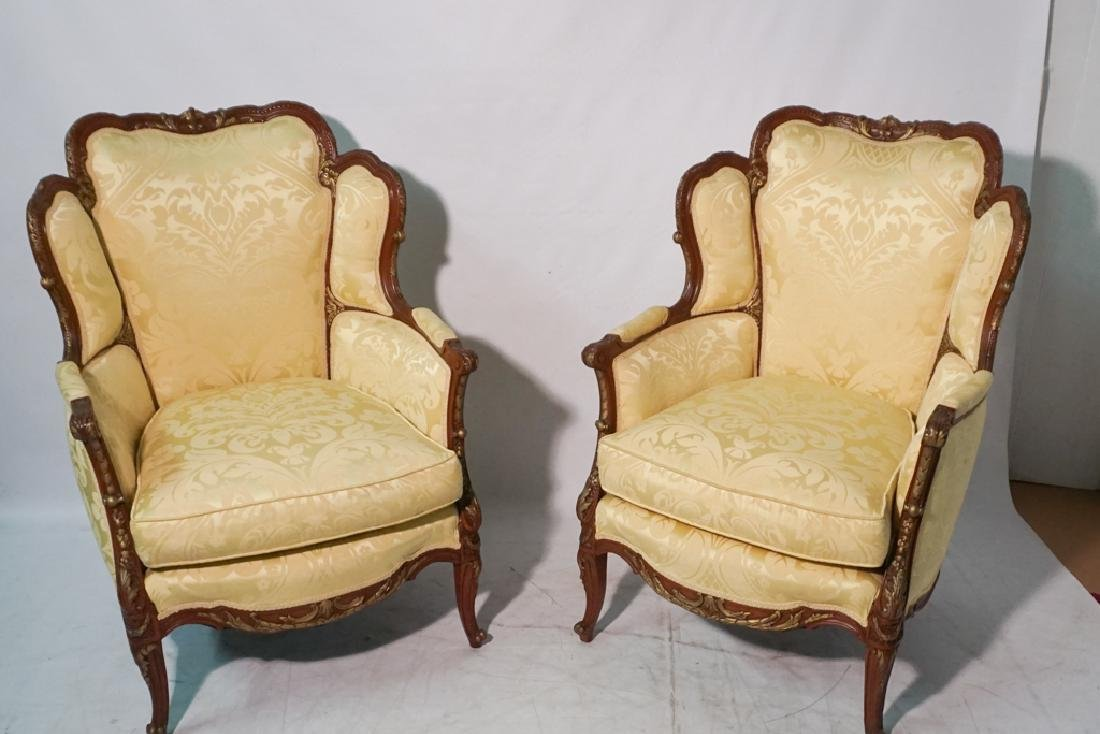 Pair of French Style Armchairs