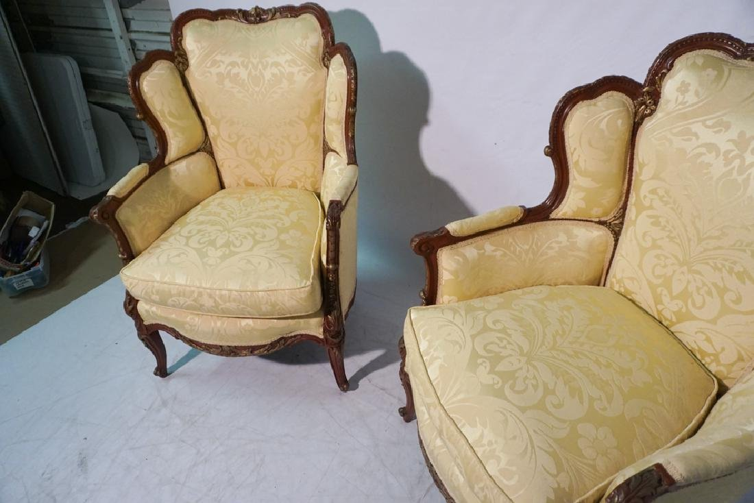 Pair of French Style Armchairs - 4
