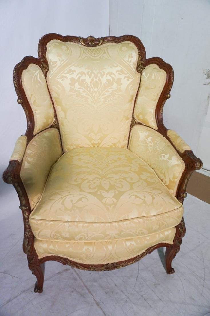 Pair of French Style Armchairs - 5