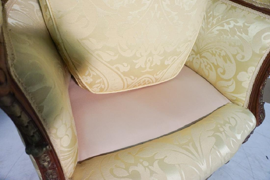 Pair of French Style Armchairs - 8