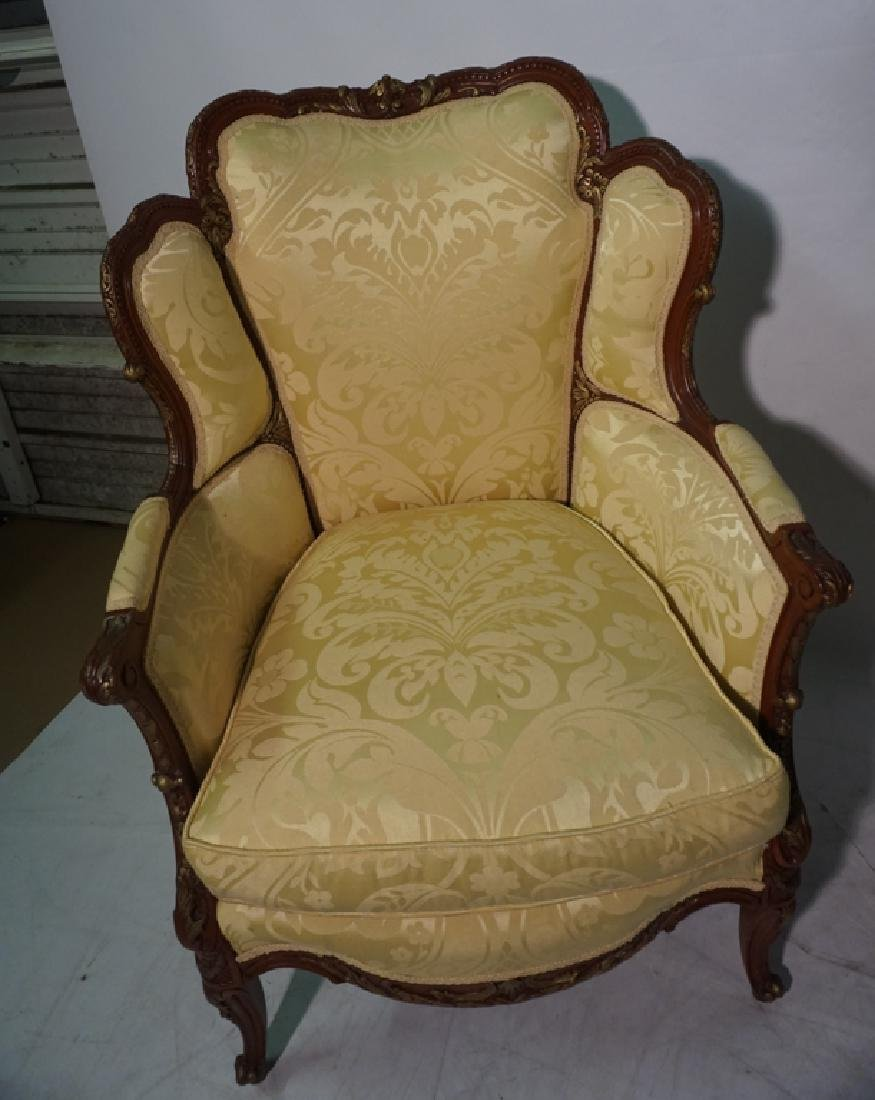 Pair of French Style Armchairs - 9