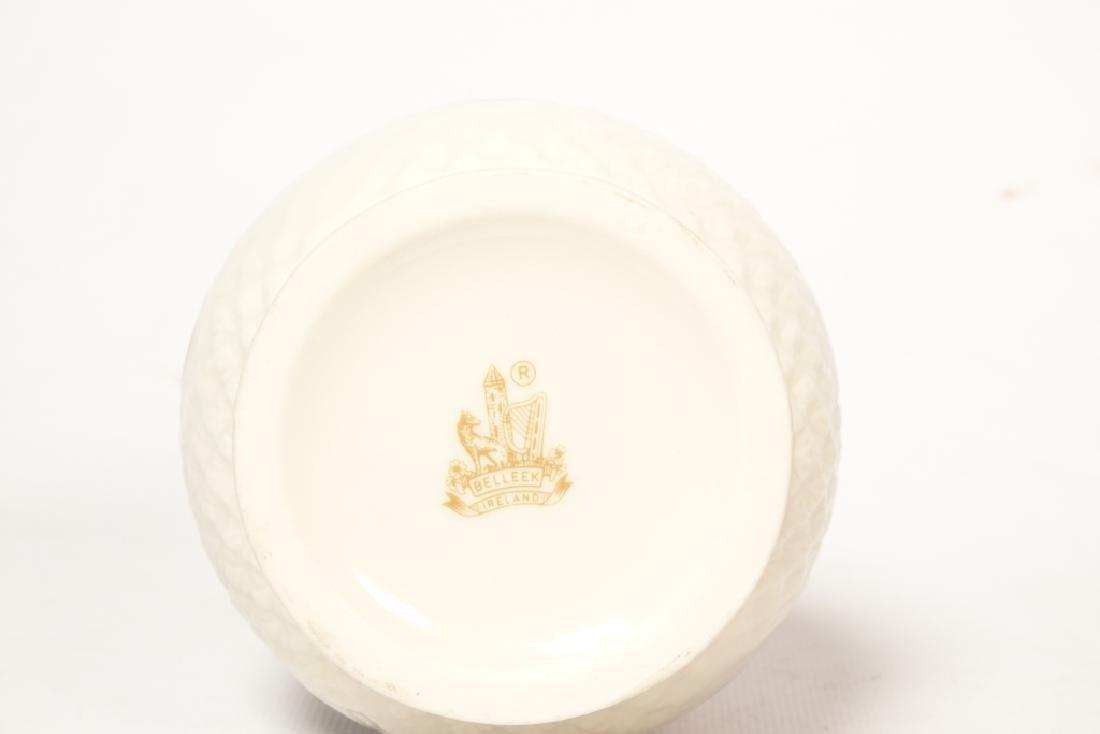 Vintage BELLEEK  Porcelain Vase - 2