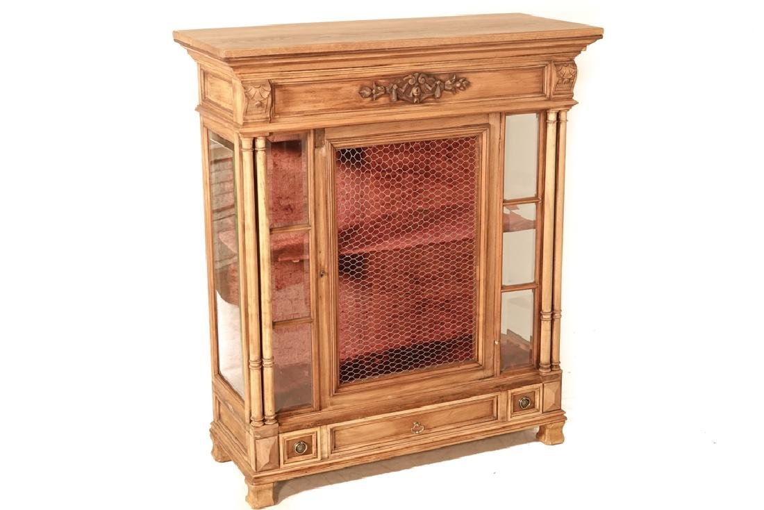 20th Renaissance Style Display Cabinet
