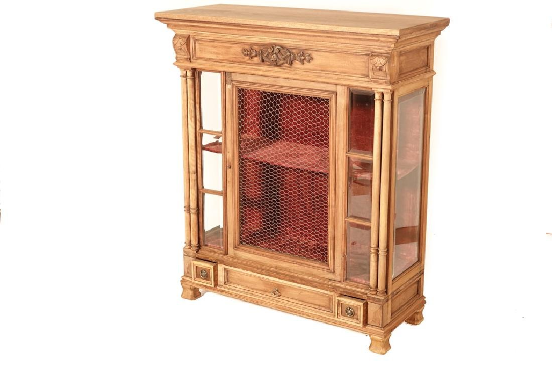 20th Renaissance Style Display Cabinet - 2