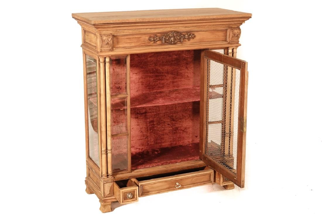 20th Renaissance Style Display Cabinet - 3