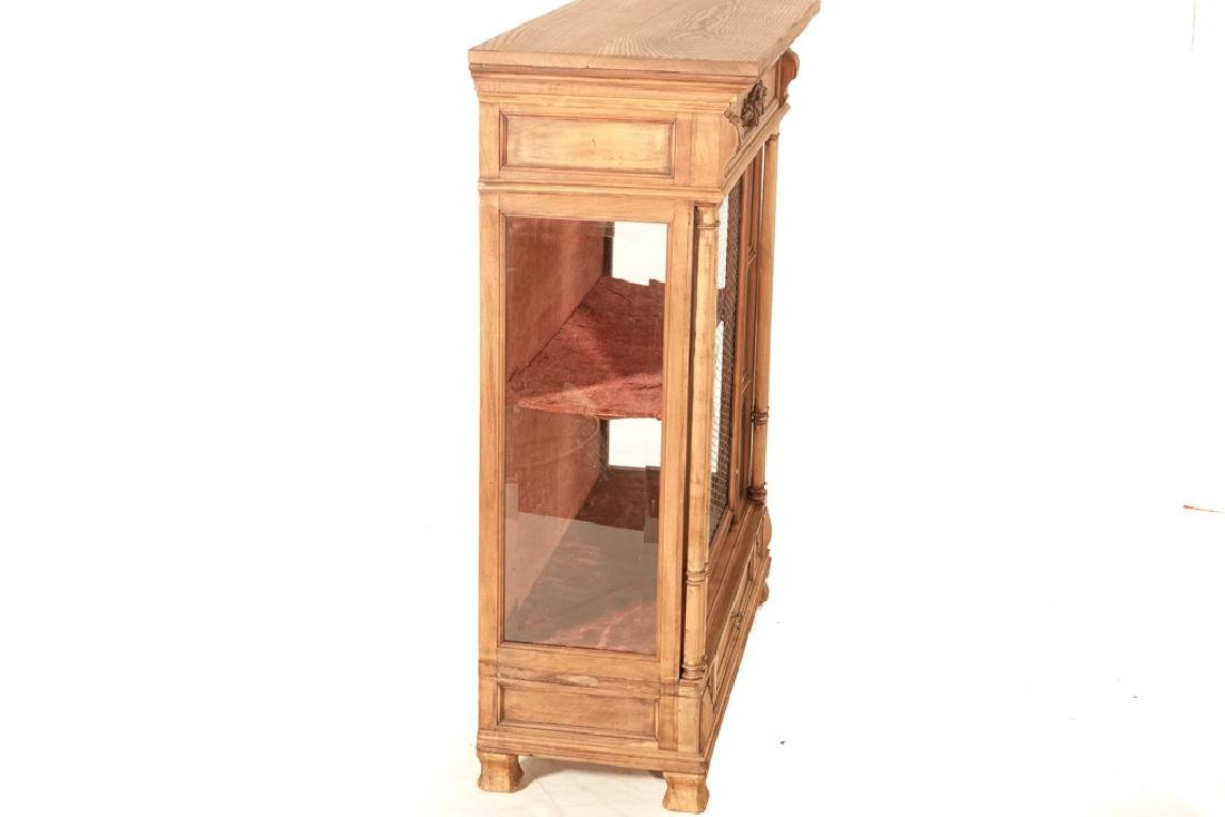 20th Renaissance Style Display Cabinet - 6