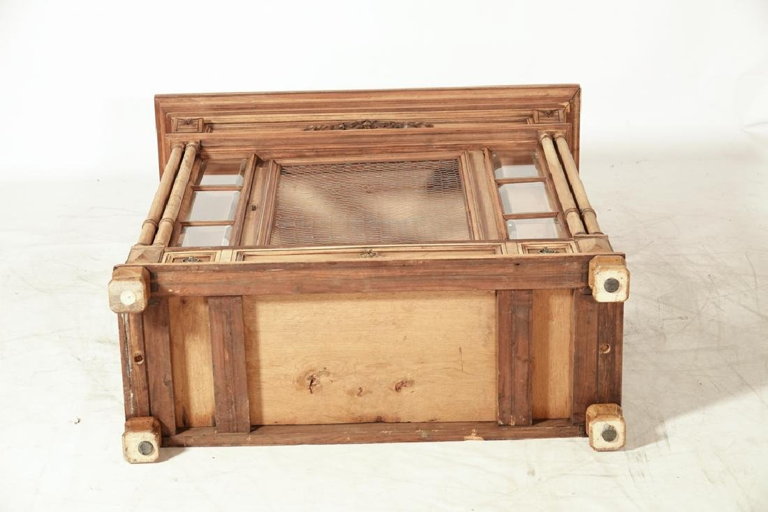 20th Renaissance Style Display Cabinet - 9