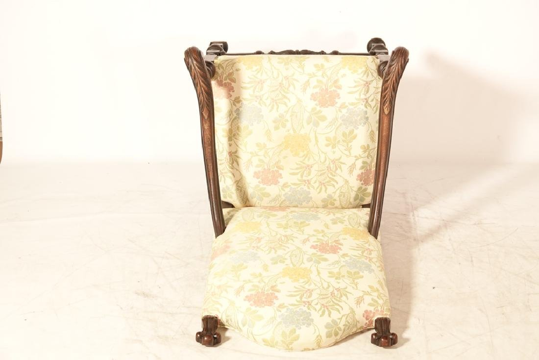 Two (2) Louis XIII Style Upholstered Armchairs - 10