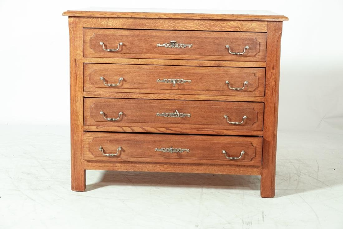 French Oak Commode - 10