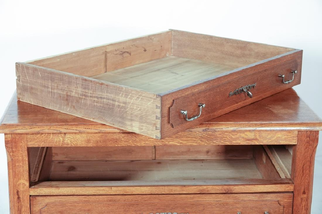 French Oak Commode - 2