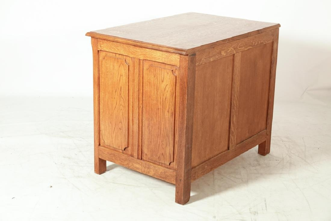 French Oak Commode - 3