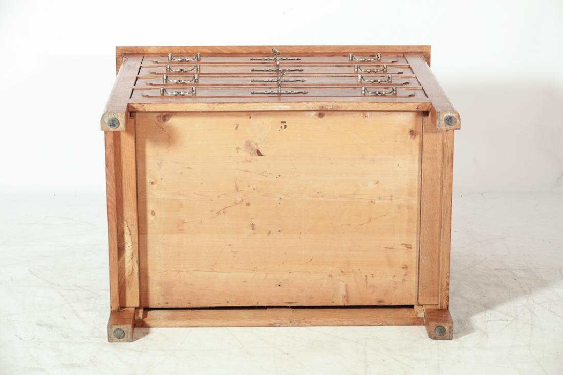 French Oak Commode - 6
