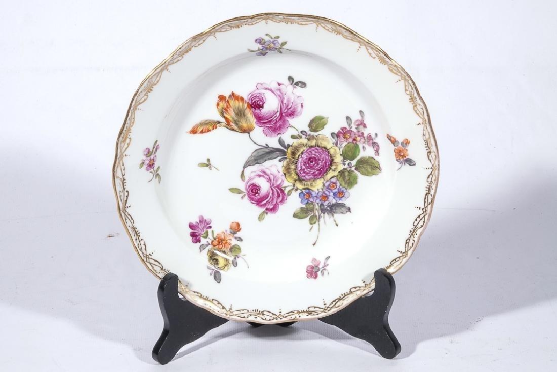 Set of Four MEISSEN Dessert Plates - 10