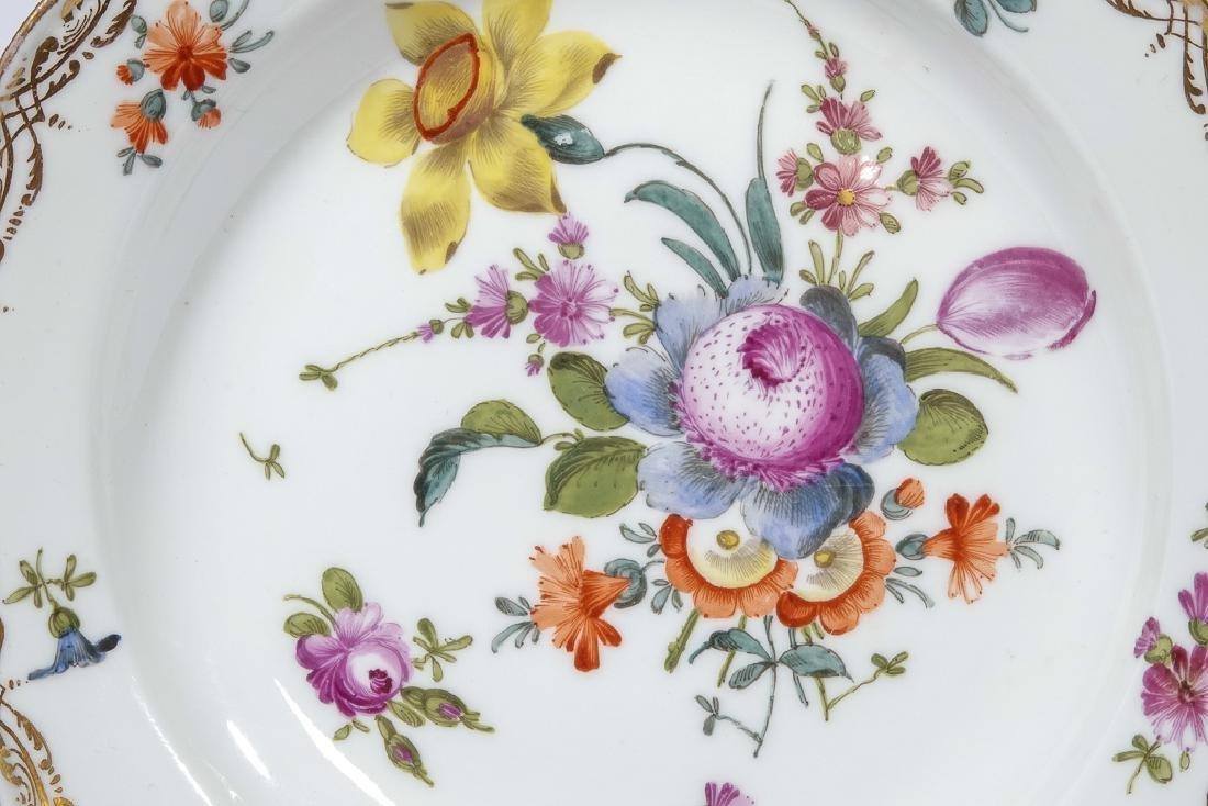 Set of Four MEISSEN Dessert Plates - 4
