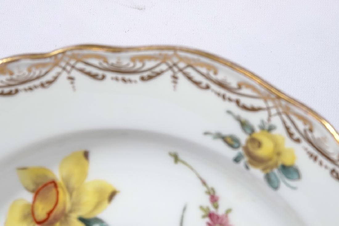 Set of Four MEISSEN Dessert Plates - 5