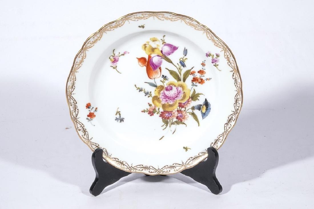 Set of Four MEISSEN Dessert Plates - 9
