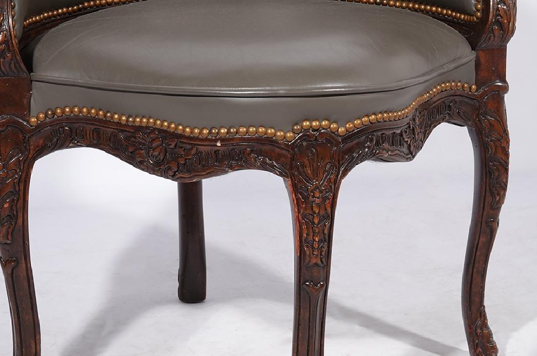 Louis XV Style Desk Chair - 3