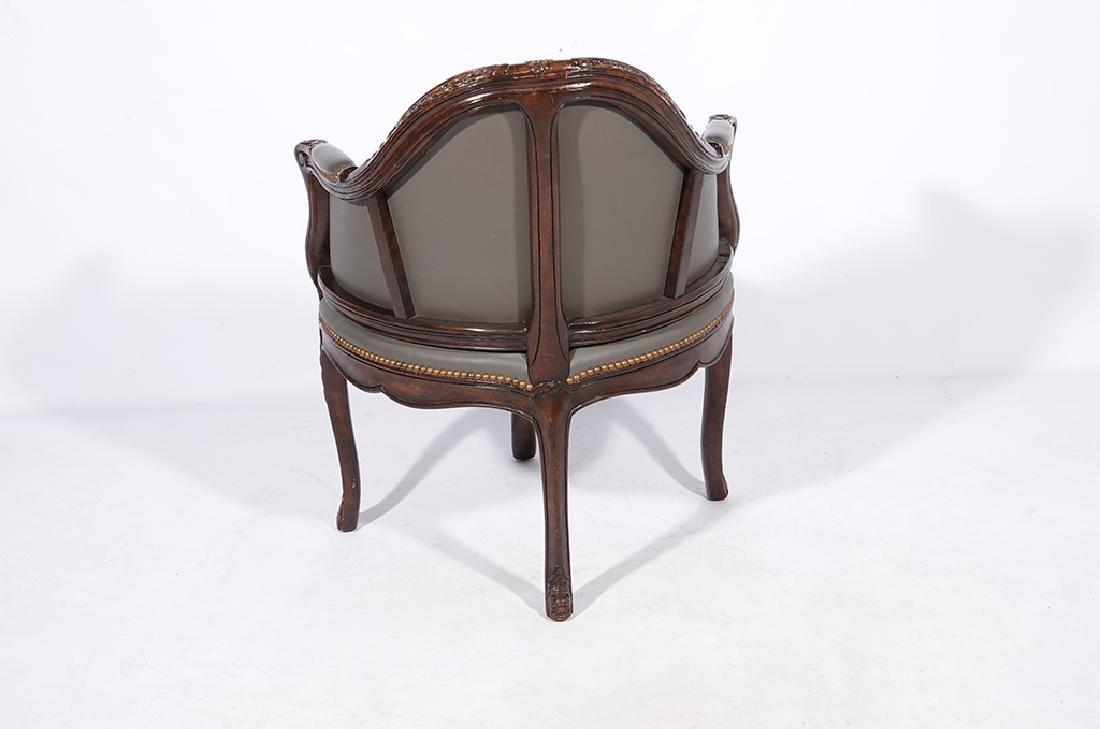 Louis XV Style Desk Chair - 5