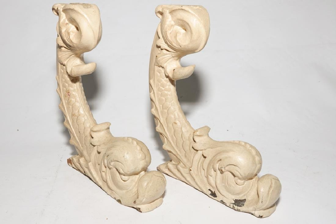 Vintage Dolphin Corbels