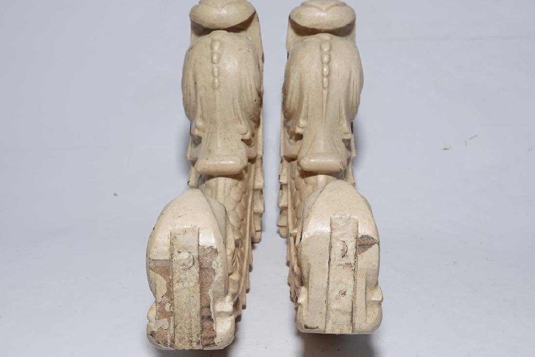 Vintage Dolphin Corbels - 5