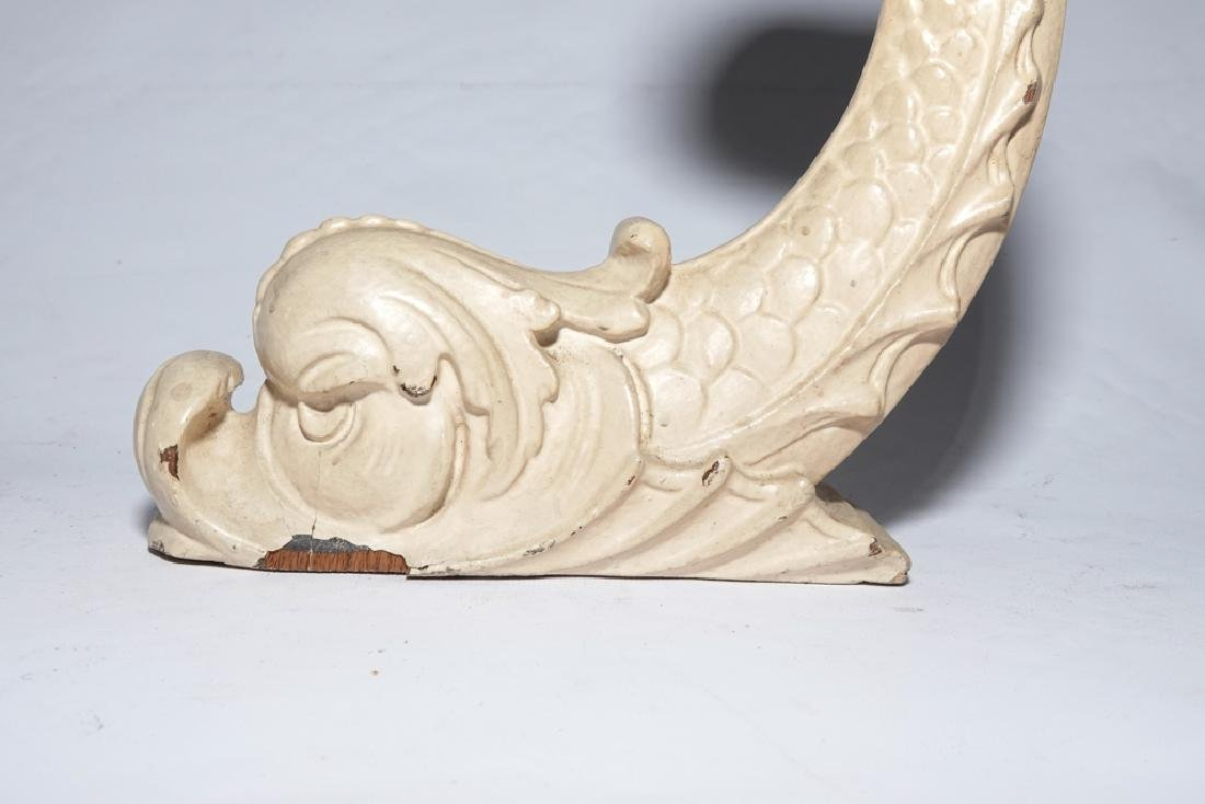 Vintage Dolphin Corbels - 8