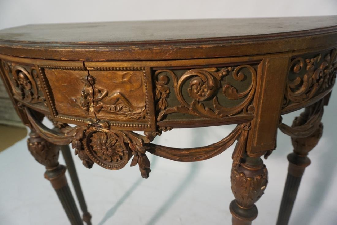 Louis XVI Style Console Table - 6