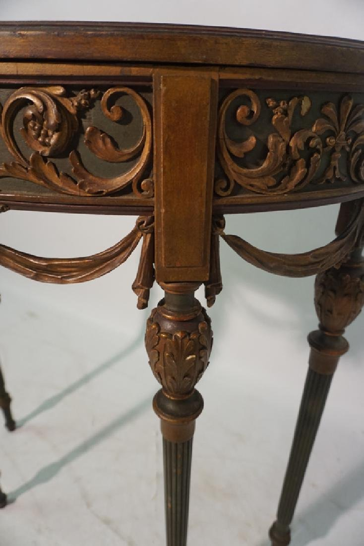 Louis XVI Style Console Table - 7