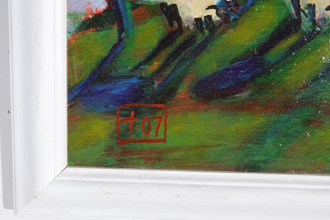 Contemporary School, Sheep In the Field - 2