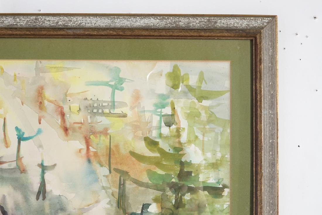 "Shin Hai Jai, ""Autumn Leaf"" Chinese Watercolor - 3"
