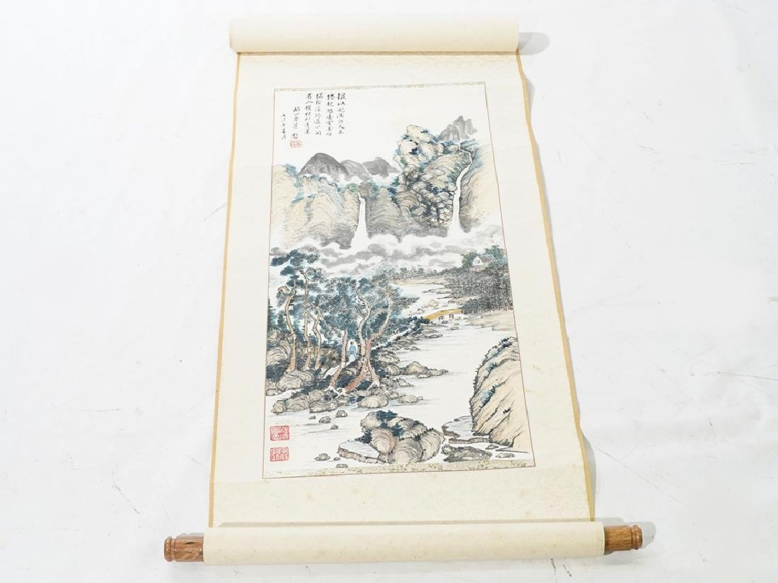 Vintage Chinese Scroll - 2