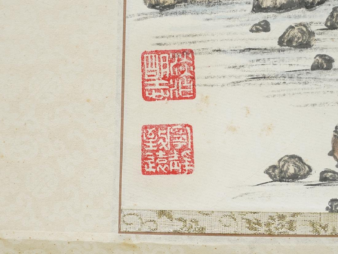 Vintage Chinese Scroll - 5