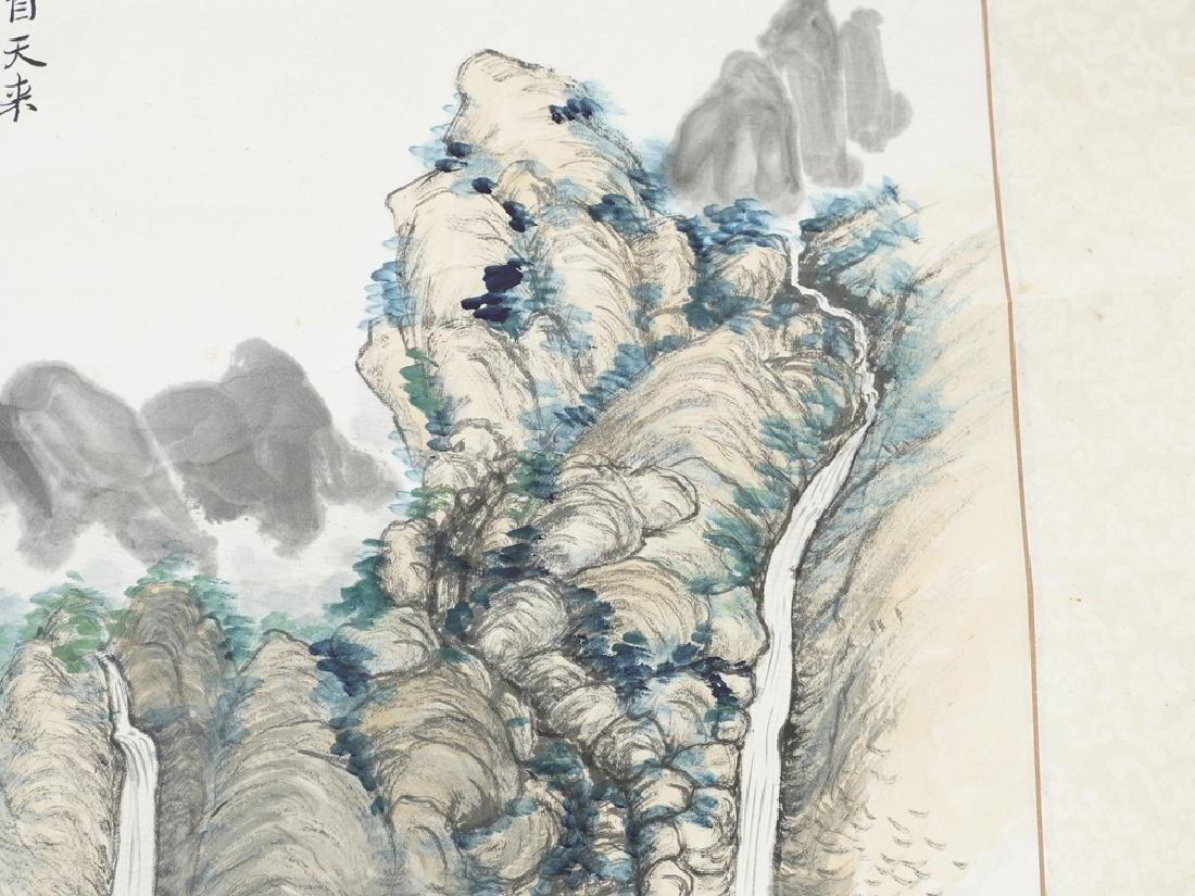 Vintage Chinese Scroll - 7