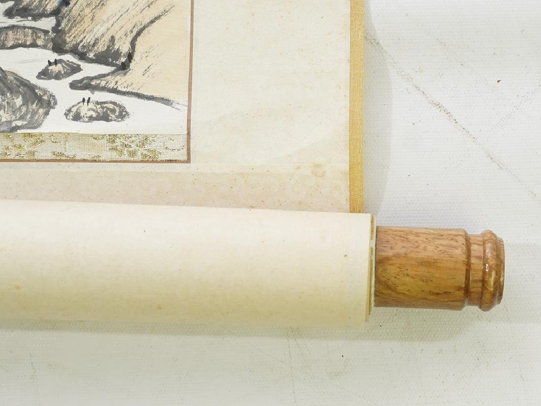 Vintage Chinese Scroll - 9