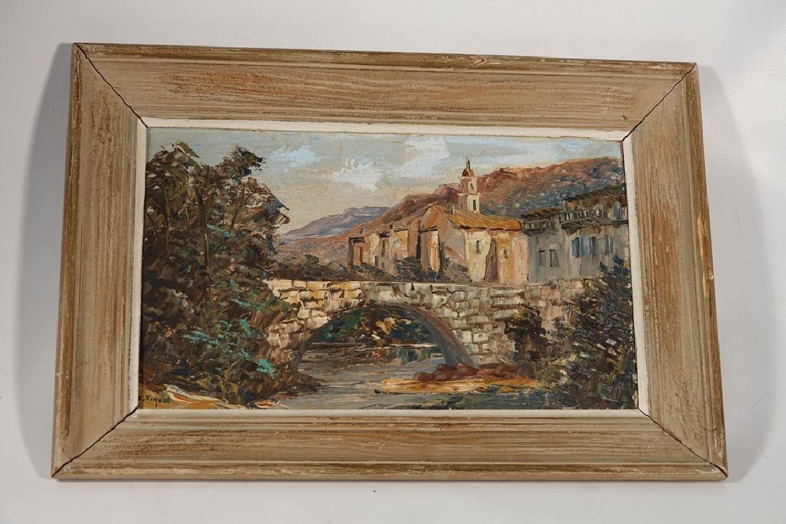 Vigon, Louis J. (French, 1897-95)  Vue de Luceram