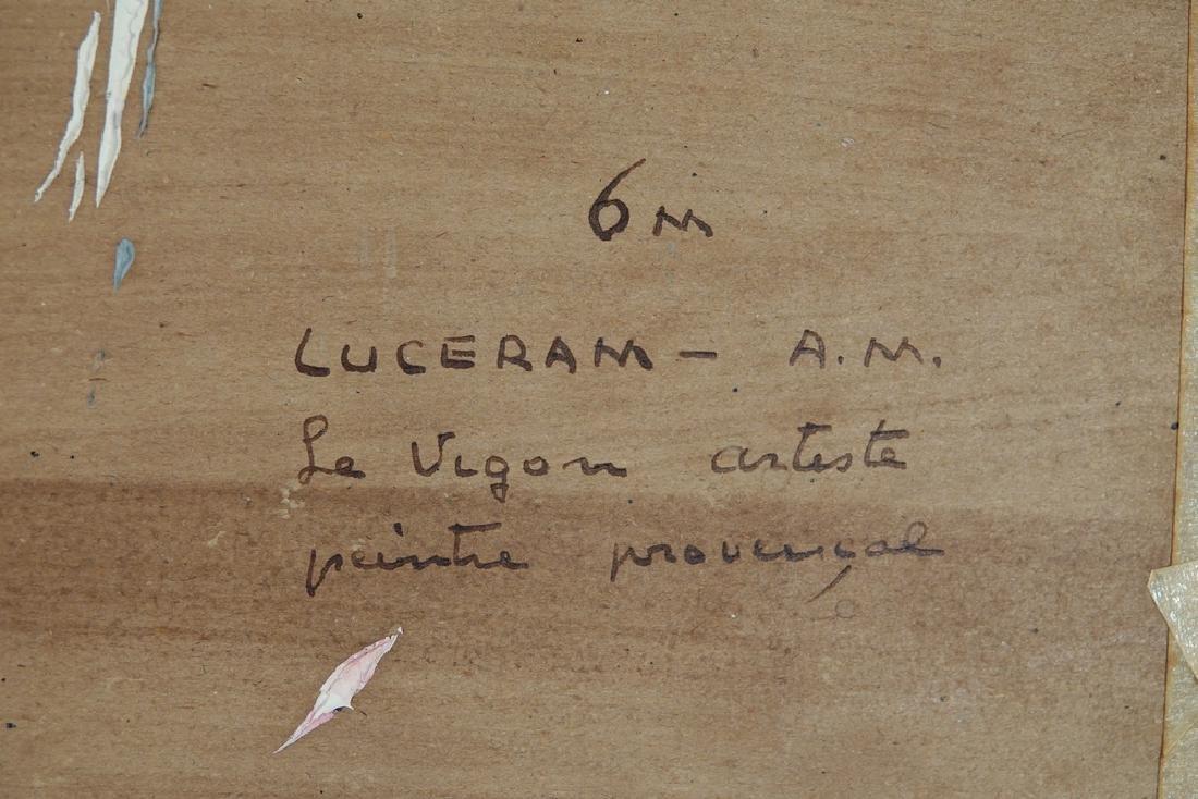Vigon, Louis J. (French, 1897-95)  Vue de Luceram - 8