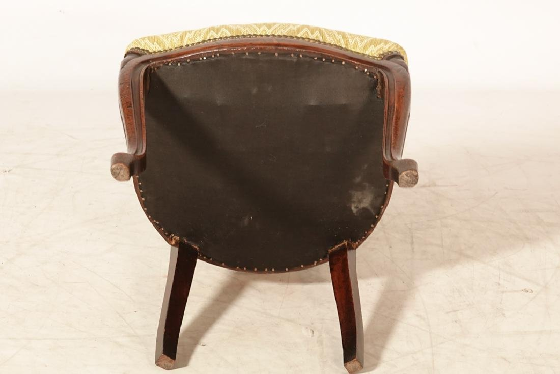 Pair of Antique Italian Ribbon Back Side Chairs - 4