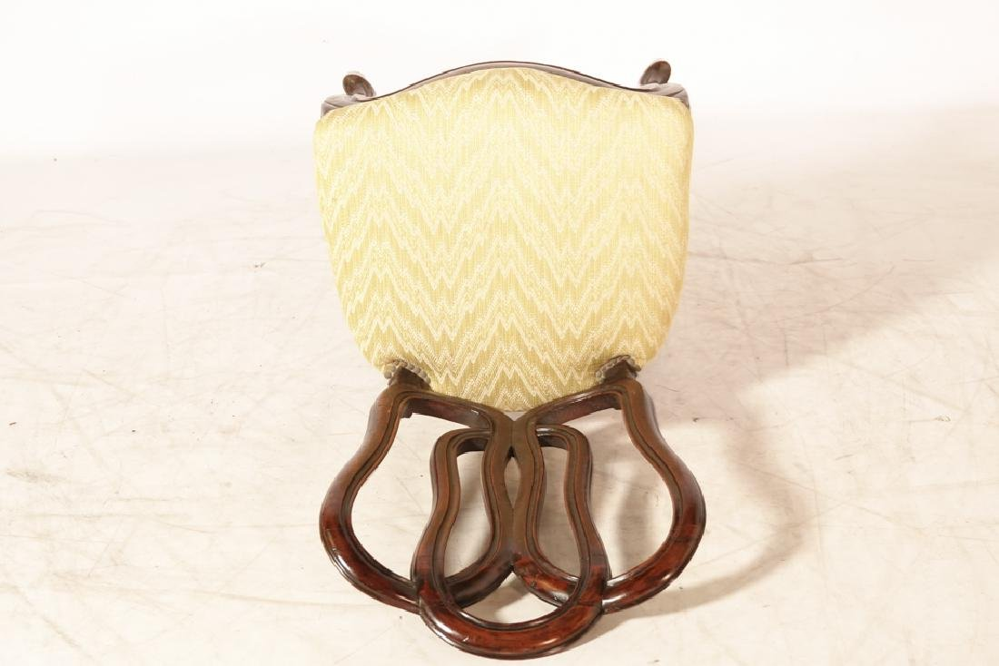 Pair of Antique Italian Ribbon Back Side Chairs - 5