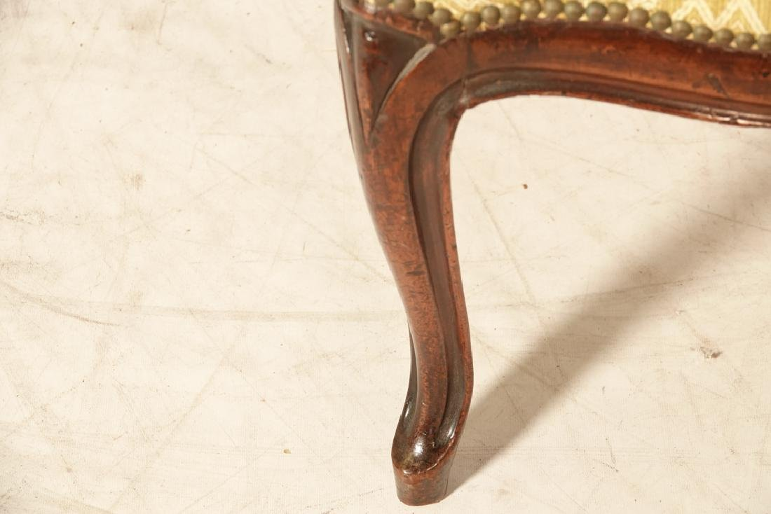 Pair of Antique Italian Ribbon Back Side Chairs - 7