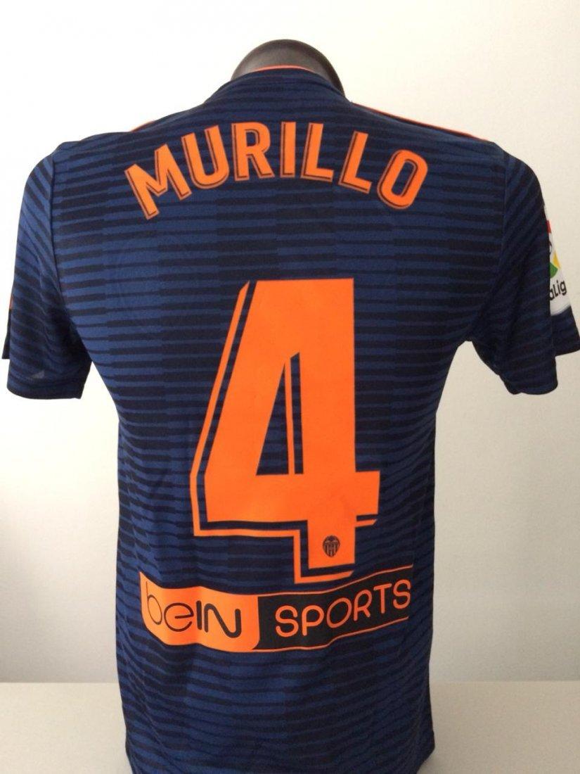 Jeison Murillo #4 Valencia Autographed Jersey