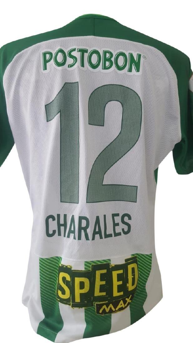 Alexis Henriquez #12 Atletico Nacional Autographed - 3