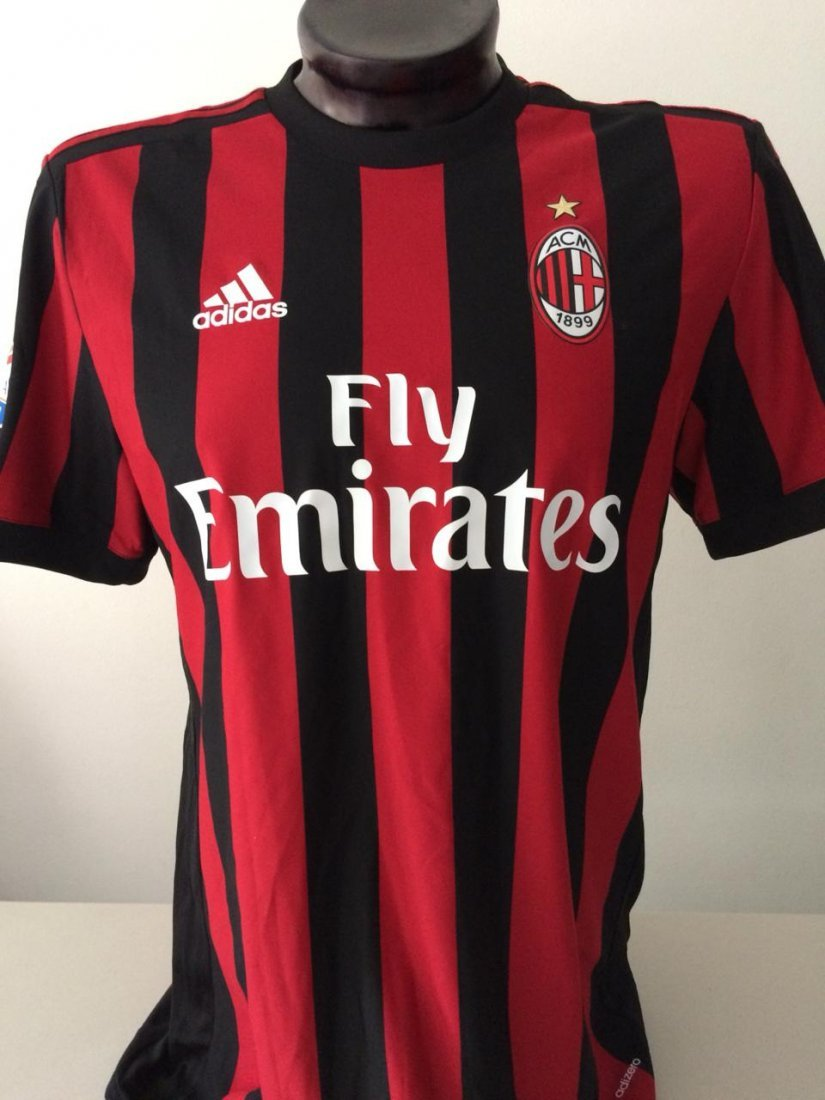 Cristian Zapata #17 Milan Autographed Jersey