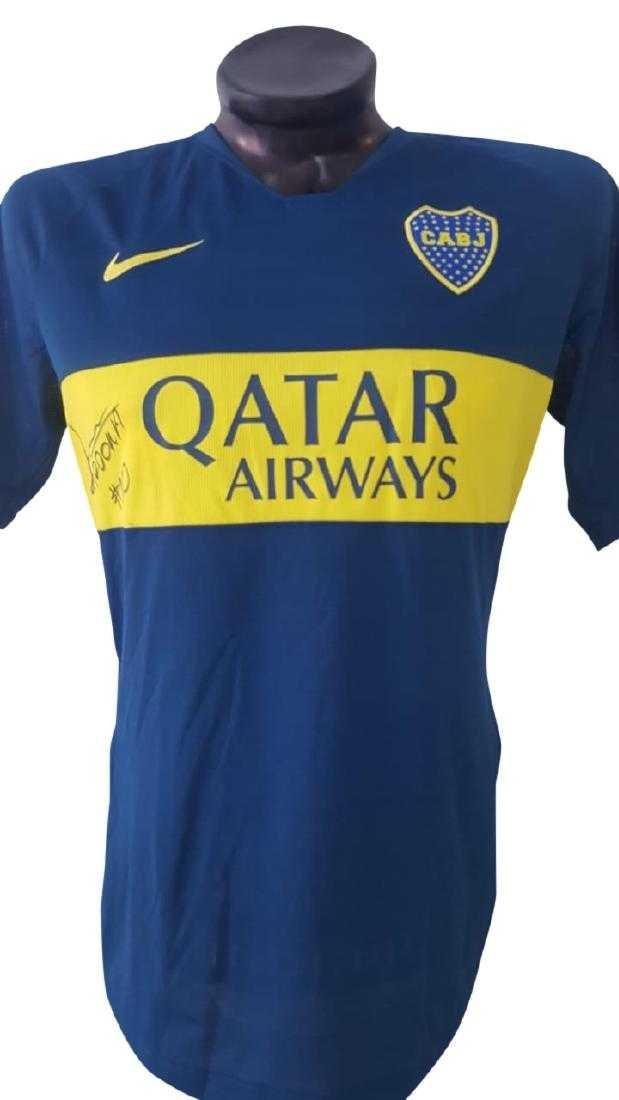 Edwin Cardona #10 Boca Juniors Autographed Jersey - 5