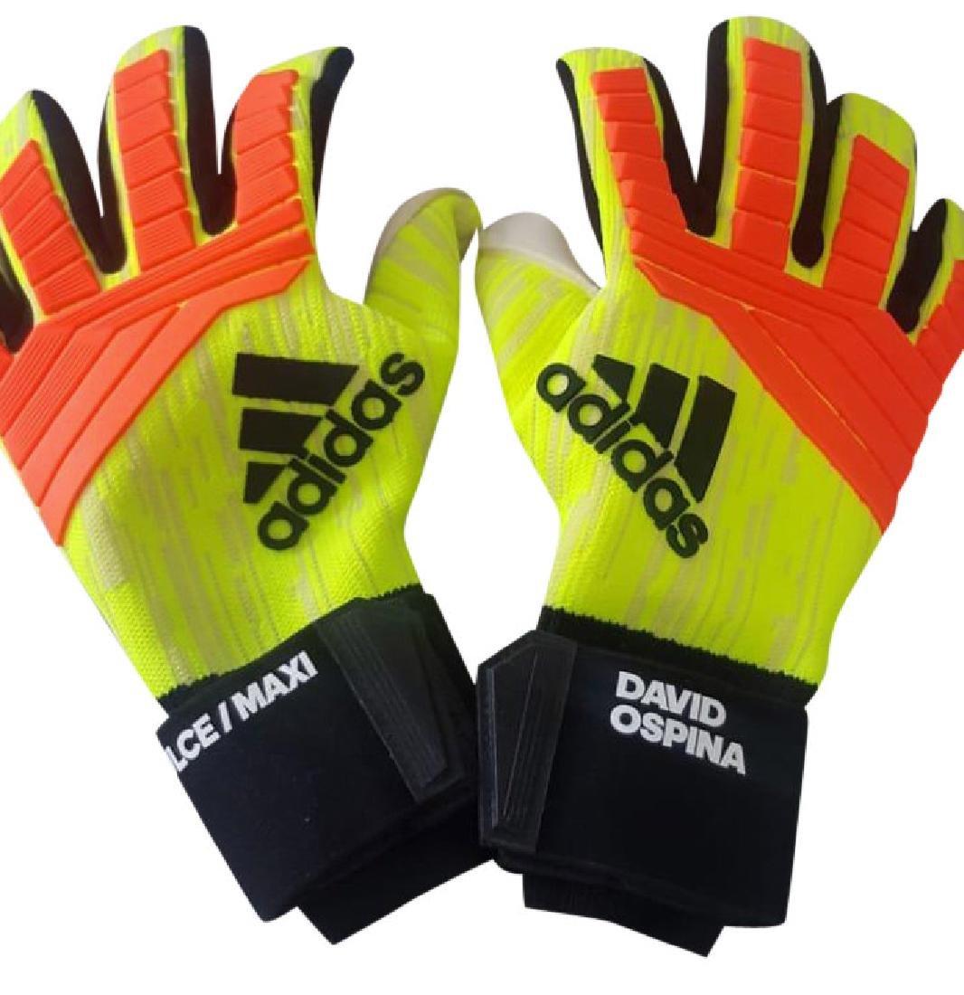 David Ospina #25 Adidas Autographed Gloves