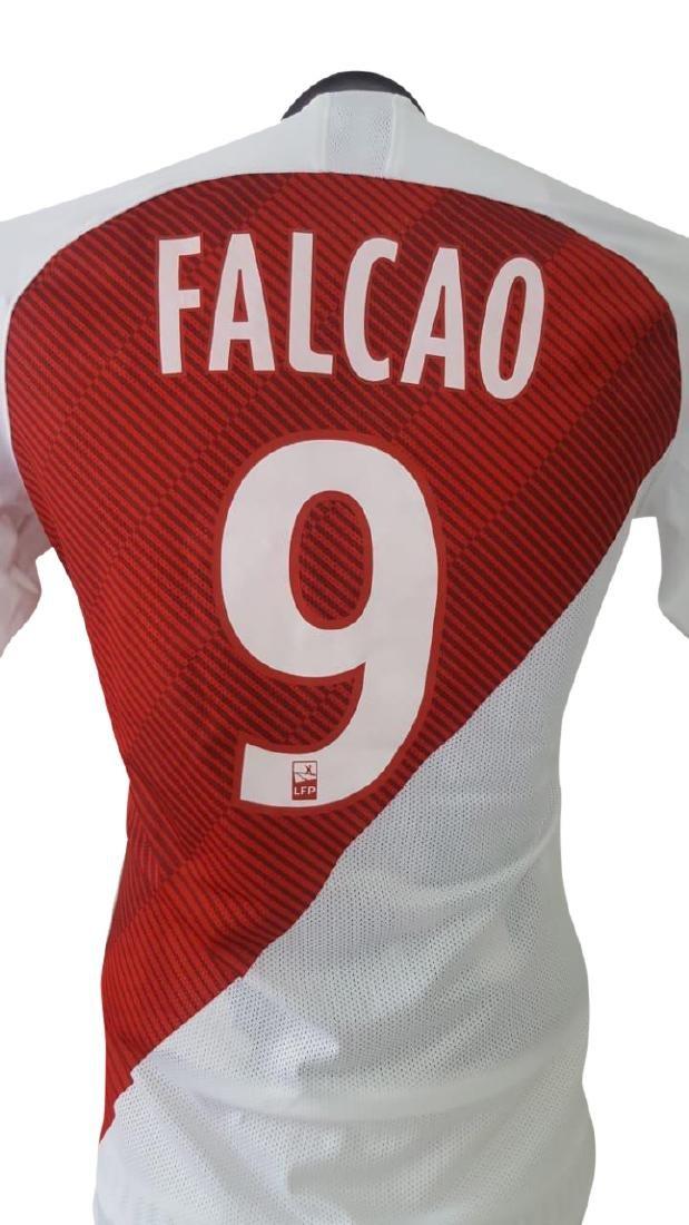 """Radamel Falcao """"El Tigre"""" #9 ASM Autographed Signed - 4"""