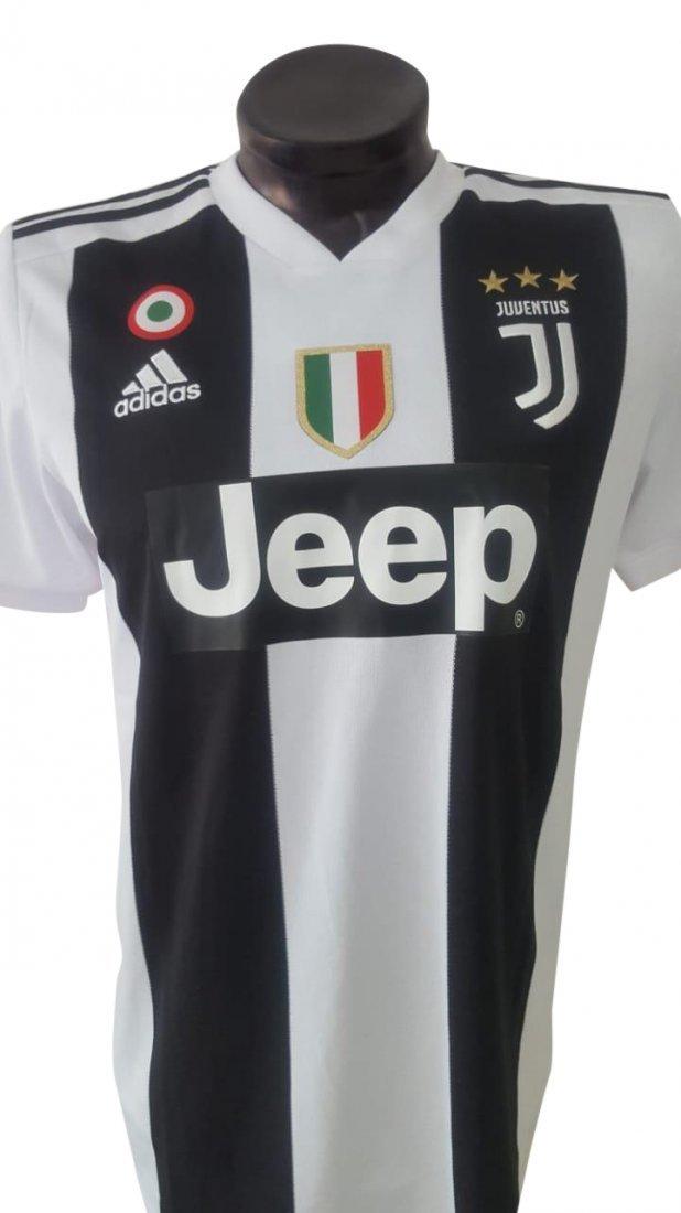Cristiano Ronaldo #7 Juventus Autographed Jersey - 2