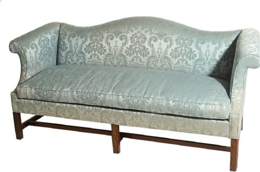 Outstanding Hickory Chair Chippendale Style Camelback Sofa Machost Co Dining Chair Design Ideas Machostcouk
